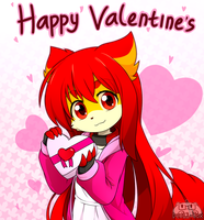 .: Happy Valentine's Day :. by Devil-Vox