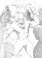 Iron Fist pencils by LangleyEffect