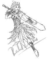 Guild Wars Mesmer WIP by Rahtschini
