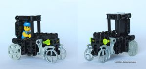Bionicle MOC: Model T Ford by Rahiden