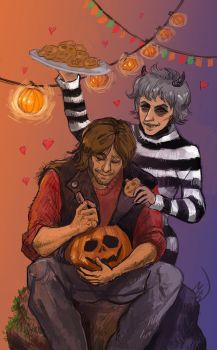 Caryl Halloween 2016 by MadHatters-Wife