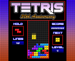 Tetris 30th Anniversary Tribute by WhiteLionWarrior