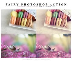 Photoshop Fairy action by lieveheersbeestje