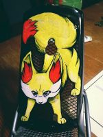 Fennekin phone case by CatherineSt
