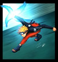 Naruto by MJ by maehao