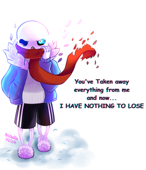 .::Undertale::. Nothing by Kristinabb86