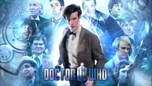 The Doctor - Eleven Faces, One Man by dalekdom-fanart