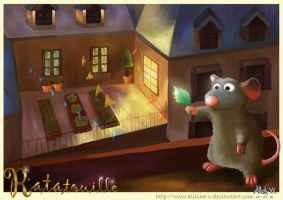 Ratatouille - Rooftop by Allisha-V