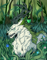 Forest Spirit by Kaymaro