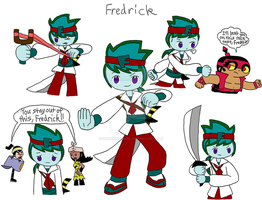 Hero108 Fredrick by dannichangirl