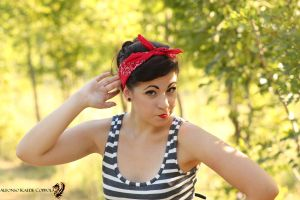 Model Pin up by SelyaMakeup