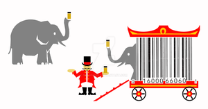 creative barcode circus wagon by sethness
