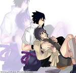 Commission 06 Sasuke x Anko by NammyLank