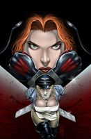 BloodRayne vs Butcheress Cover by MDiPascale