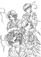The marauders by Dailan