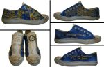 Hand- painted Doctor Who Sneakers by afoulke169