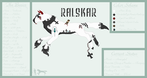 ::Ref Sheet:: Ralskar by RavenSerpent