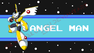 Angel Man -Megaman OC? Idk- by Silver-Blur