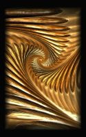 Golden wings by Zizela