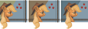 Applejack Applecards by AssasinMonkey