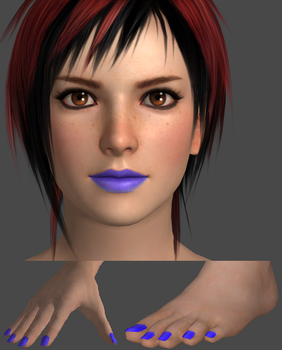 Mila - Electric Makeup by IBeatUAtEverything