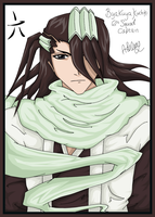 6th Squad Captain - Byakuya by clericashleapreston