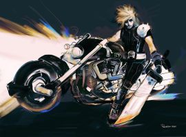 Final Fantasy7 Cloud by ch-peralta