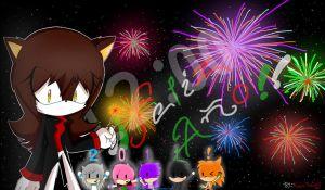 Happy year 2011 by naomithecat1