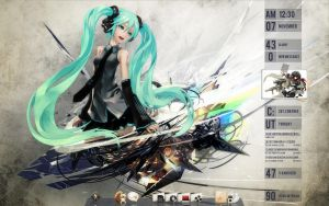 Miku ScreenShot by brbk