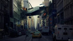 Space-Shuttle-Disaster by rickk18