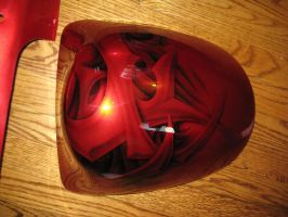 Red Kandy Busa seat cowl by Jonny5nLala