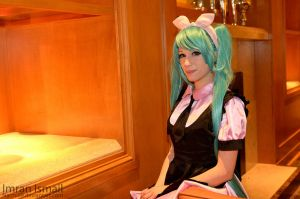 Vocaloid - Hatsune Miku by DISC-Photography
