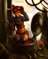engineer babe by dcwj