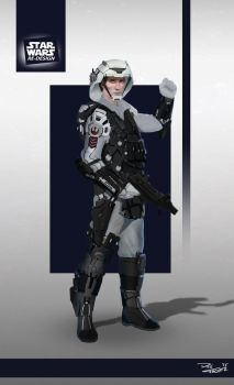 Star Wars ReDesign: Rebel Trooper by Phil-Sanchez