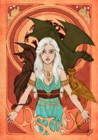 I Will Take What Is Mine With Fire And Blood by Kasami-Sensei