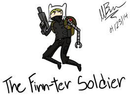 The Finn-ter Soldier by GingerBaribuu