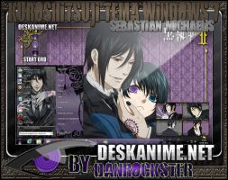 Sebastian Michaelis Theme Windows 7 by Danrockster