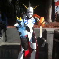 Omnimon cosplay by HereticalSun