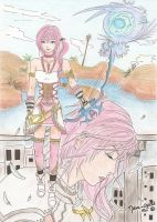 Coloured FFXIII-2 - S and L by Malva-Crystal