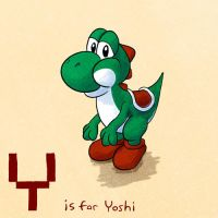 Y is for Yoshi by KeithAErickson