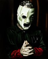 Corey Taylor With Background by reggy66