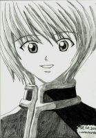 Kurapika smile by alechan92