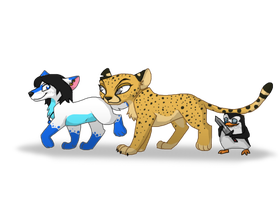 Aquayet, Azuro and Skipper ~ Trade with Spoocy by RIOPerla