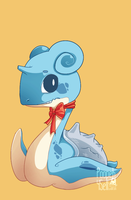 Bouncing Lapras by Sumu-Zu