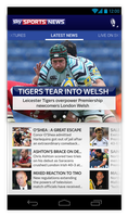 Sky Sports News Android App Redesign by and471