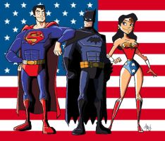 JLA 3 by Tyrannus Cel shaded by Claymore1322