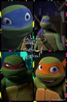 The turtles of justice by TSilvTMNT