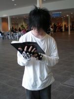 L, Death Note by Gigivana