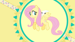Fluttershy Pet [Wallpaper] by SimonOrJ