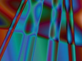 Red Blue Green Abstract by Variety-Stock
